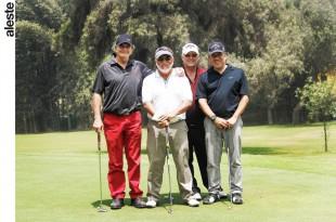 Willy Neustadtl, Guillermo Herrera, Tomás Rey y Diego Valdivia