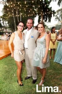 Alejandra Valdez, Miguel cassinelli y Mariana Canaval
