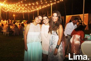 Angie Schlegel, Fiorella Ferrero y Andrea Lanata