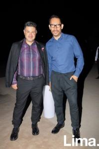 Antonio Choy Kay y Gerardo Larrea