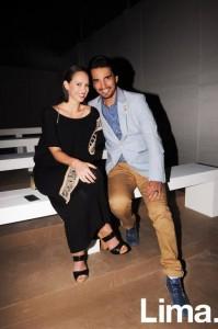 Chiara Macchiavello y Carlos Andres Luna
