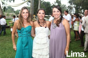 Emiliana Rizo Patrón, Paola Carozzi y Analia Calmell