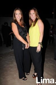 Fátima Arrieta y Ximena Arenas