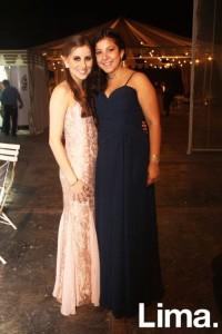 Ines y Mariafe Caravedo