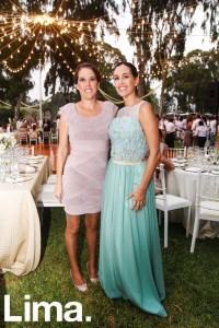 Julissa Piccini y Denise Andrade