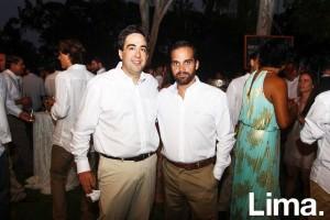 Max isola y Jorge Luis Solari