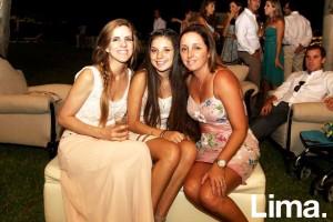 Pamela Day , Luciana Consiglieri y Lily Gordillo