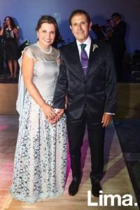 Raul Martinez y Blanca Veliz