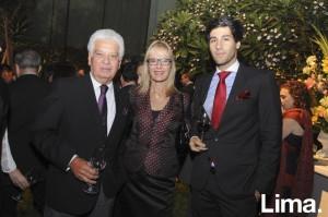 Alfonso, Claudia y Alfonso Mendizabal