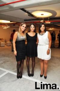 Ana Lucía Prada , Maria Teresa Chavez y Claudia Llamosa