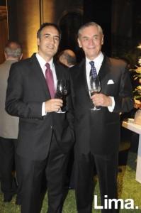 Andrés Lavados y Roberto Ibarra
