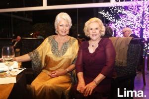Silvia Ganoza y Betty Woard