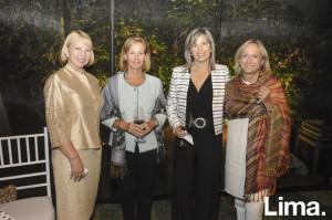 Cecilia Villa, Lola Barutel, Priscilla Galindo y María Bárcenas