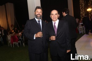 César Benites y Eduardo Bauer