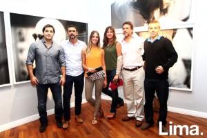 Matías, Hans, Chiara, Roxana, Jorge y Stefano Stoll