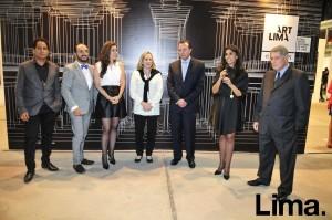 Christian Bendayán , Efraín Salas , Erica Lang , Diana Álvarez Calderón ,Jakke Valakivi y García Miró