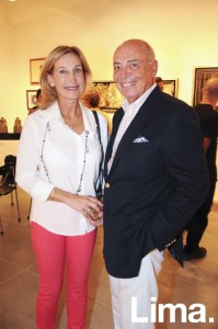 Cristina Carlsen y Eduardo Freundt