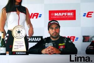 Jorge Cardeña, ganador TC 1600