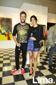 David Villanueva y Laura Cuadros