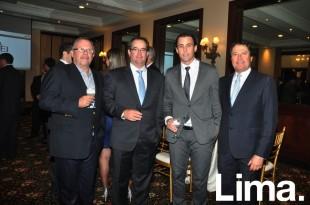 Eduardo Lechuga , Andrés Zubiate , Juan Carlos Tasara y Rodolfo Bragagnini