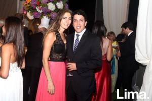 Mauricio Sánchez y Adriana Kouri