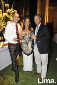 Fernando Szczurowski, Claudia Castellano y Enrique Gómez
