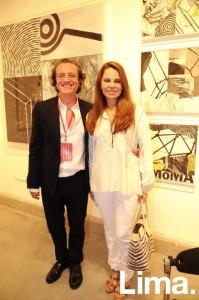 Fernando Taboad y Vanessa Bambarén