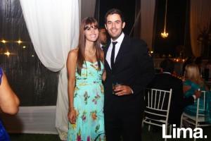 Francesca Sala y Jean Paul León