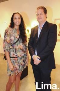 Giana Pollarolo y Gonzalo Ganoza