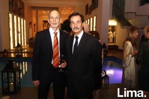 Ehud Eitam y Gonazalo Zapater