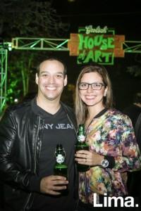 Gonzalo Carcelén y Daniela González