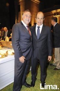 Guillermo Winter y Alejandro Indacochea
