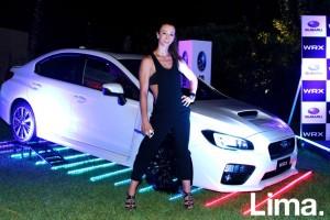 Vania Masías embajadora de Subaru