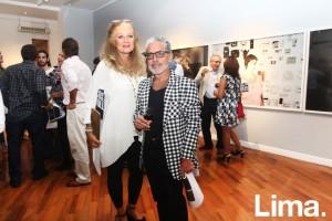 Janet Revilla y Enrique Leguía