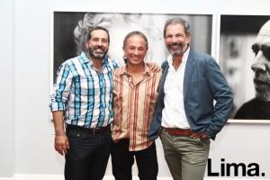 Jorge Draxes, Larry Salcedo y Jordy Puig