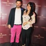 Jose Bracamonte y Romina Leiva