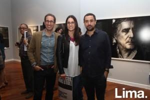 Juan Carlos Verme, Michelle Barclay y Carlos Camano