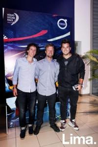 Juan Carlos Gonzalez, Alexander Zimmermann y Daniel Dañino