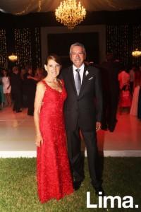 Laura Canessa de Villacorta y Carlos Villacorta