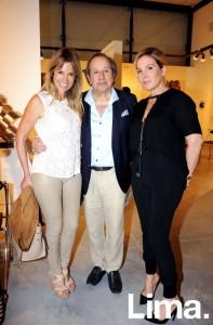 Liz Foy de Osma, Armando Arana e Iliana Lolas