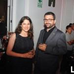 Lorena Medina y Pedro Parra