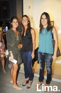 Luisi Llosa, Maria Luisa Saba y Verónica Aspíllaga