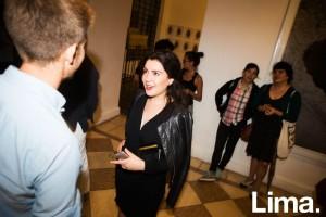 Pamela Romero en Galería 80m2