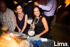 Ana María de Lozada en Lanzamiento de Indi & Bayswater, Open Bar.