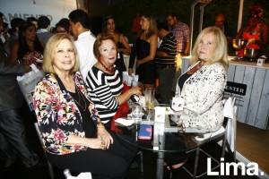 Maria del Carmen Caballero, Maria Teresa Balta y Mary Aubry