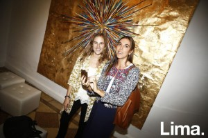 Kristell Feifer y Catalina Papic en after party, PArC, Galería 80m2