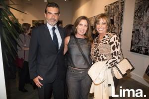 Andrés Barclay, Maria Elisa Bernales y Rosita Kahan