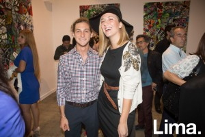 Adriano D'Angelo y Joanna Boloña