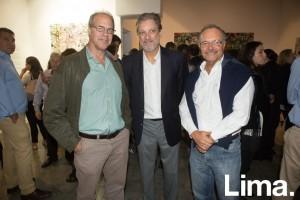 Mario Ramírez-Gastón, Ricardo León y Óscar Noriega
