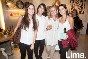 Isabella Cavallero, Teresa Portugal, Lucía Rey y Constanza Cavallero
